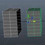 【MAYA】デタッチツールや分離ツールでメッシュを分割しよう!