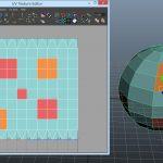 【MAYA】モデリングの基本、モデルに合わせたテクスチャーを作ろう!
