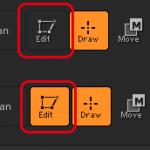 【ZBrush】初心者向けUIのカスタマイズや3D編集モードへの切り替え、軸方向や移動回転スケールの操作について。
